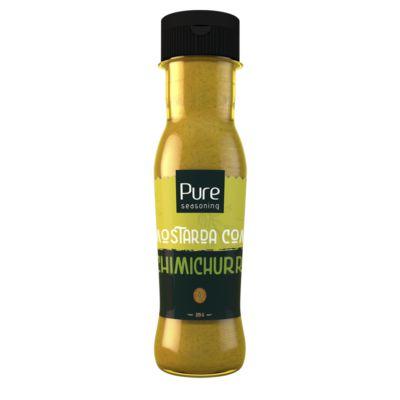 Molho de Mostarda com Chimichurri 305g - Pure Seasoning