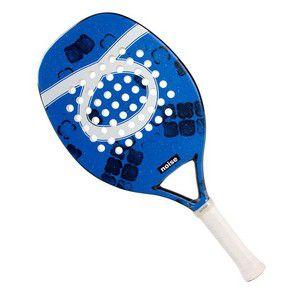 Raquete De Beach Tennis Outride Noise Blue 2020 Azul e Branca
