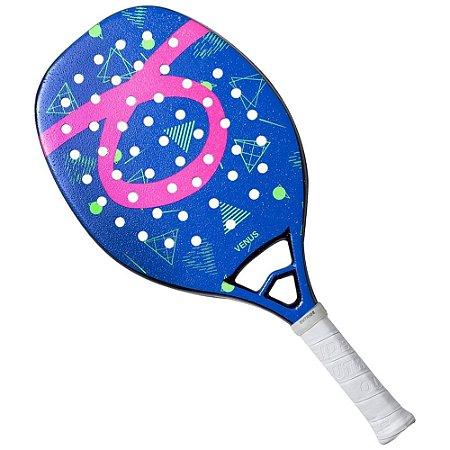 Raquete De Beach Tennis Outride Venus 2020 Azul e Rosa