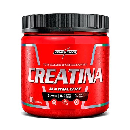 Creatina Hardcore Reload (300g)  IntegralMédica