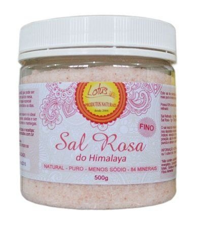 SAL ROSA DO HIMALAYA FINO (500g) - LOTUS