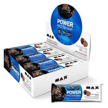 POWER PROTEIN BAR 90g - MAX TITANIUM