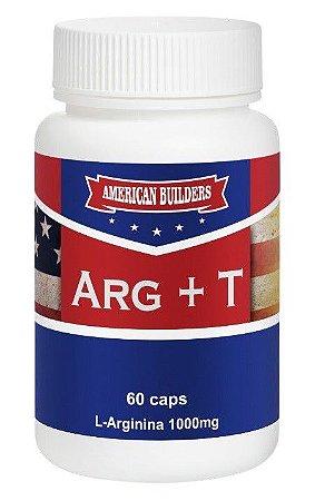 Arginina + Tadal - 60 caps - American Builders