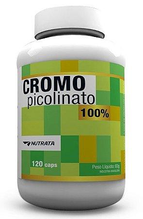 Picolinato de Cromo (120 caps) - Nutrata