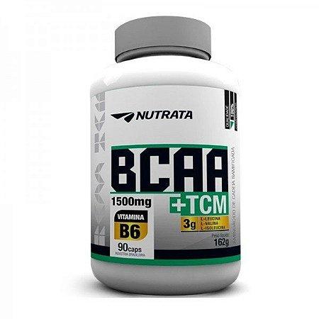 BCAA 1500mg + TCM (90 caps) - Nutrata