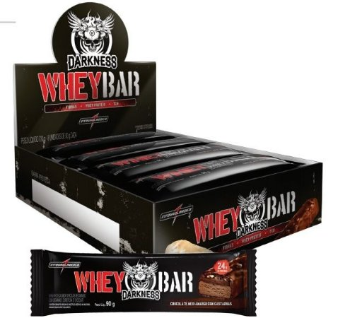 WHEY BAR DARKNESS (90 g) - INTEGRALMÉDICA