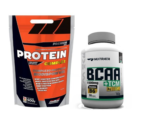 Combo Protein Complex (900g) + BCAA TCM (90 caps)