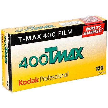 Filme negativo Kodak Professional T-Max 400 preto e branco (filme 120 Pack C/ 5)
