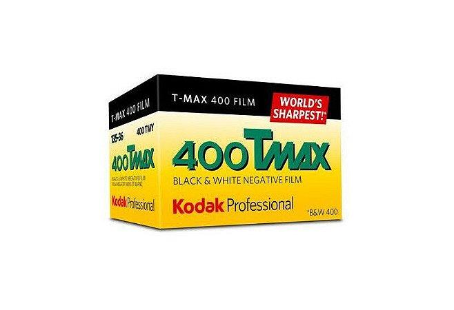 Filme negativo Kodak Professional T-Max 400 preto e branco (rolo de filme de 35 mm, 36 exposições)