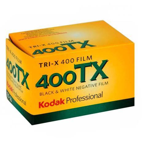 Filme negativo Kodak Professional Tri-X 400 preto e branco (rolo de filme de 35 mm, 36 exposições)