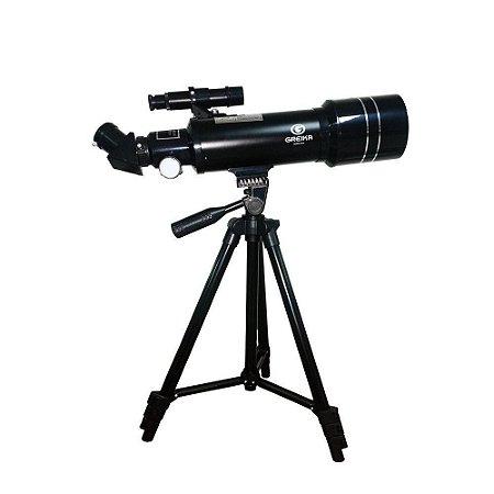 Telescopio  Azimutal  Refrator com Tripe e Acessorios-400X70MM