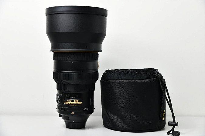 Lente Nikon AF-S NIKKOR 200 mm f / 2G ED VR II / USADA