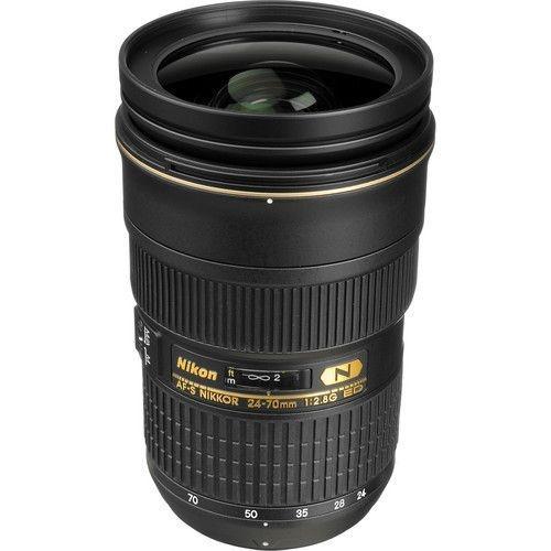 Lente Nikon AF-S NIKKOR 24-70mm f / 2.8G ED