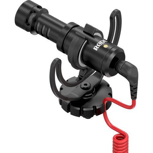 Rode VideoMicro Microfone  Compacto Para Camera  DSLR e Video