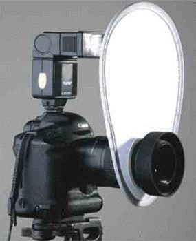 Rebatedor Oval Para Flash Digital Greika RE 2011