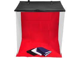 Tenda Difusora Mini Estudio Fotografico 80x80cm para Fotos de Produtos