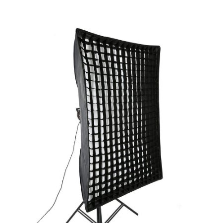 SoftBox Bowen's Strip Light 80x120cm com Grid 5x5cm Ref: 80x120cm_Bowens