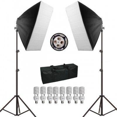 Kit de Iluminação PK-SB01 - 1080W  PARA ESTUDIO  110V
