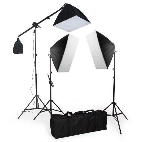 Kit de Iluminaçao luz Continua 5400K  PKSB-03 110V   E27
