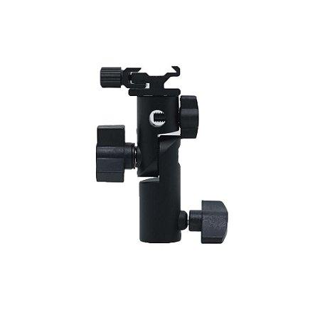 Suporte Adaptador para Sombrinha e Flash Speedlite ( REF: YA421 ) GREIKA