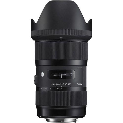 Lente Sigma 18-35mm f/1.8 DC HSM Art para Nikon