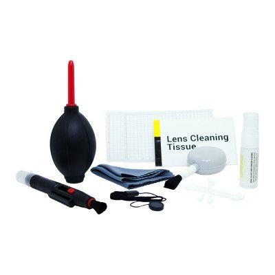 Kit de Limp. 8 em 1 Greika para Lentes Fotográficas e Óticas em Geral - WOA2048