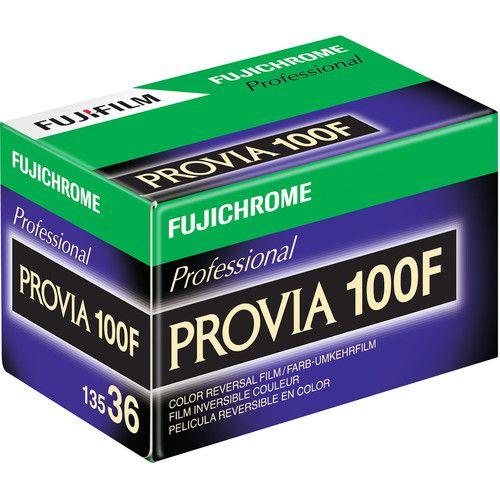 Fujifilm Fujichrome Provia 100F profissional RDP-III 136/36