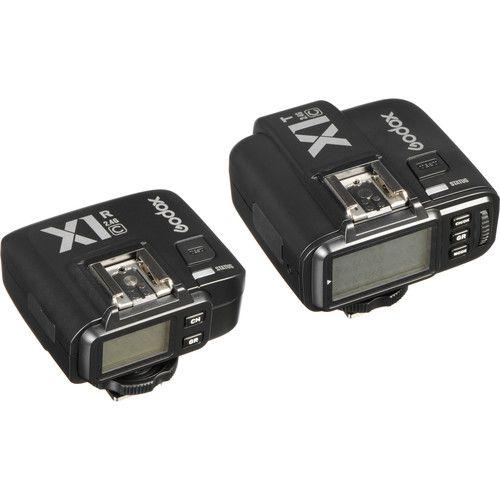 Conjunto de Disparador de Flash sem fio Godox X1C TTL para Canon