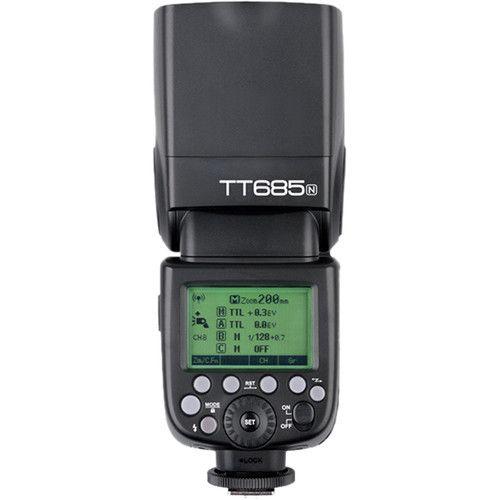 Flash Speedlite Godox Greika iTTL  TT685N - para Câmeras Nikon