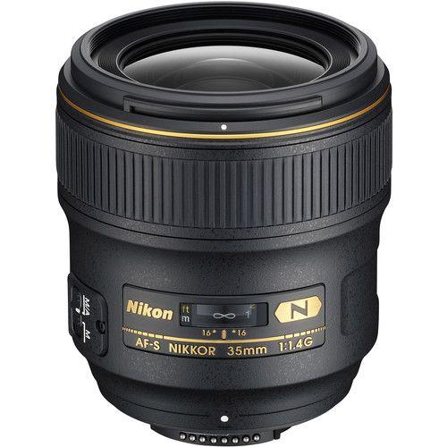 Lente Nikon AF-S NIKKOR 35mm f/1.4G N