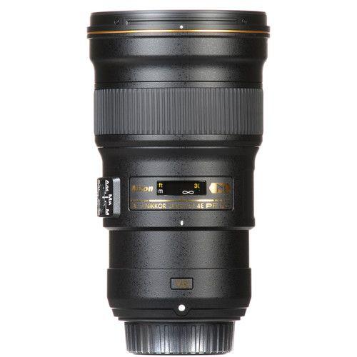 Lente Nikon AF-S NIKKOR 300mm f/4E PF ED VR /Semi Novo