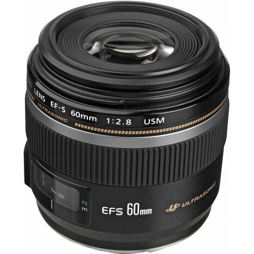 Lente Canon EF-S 60mm f / 2.8 Macro USM