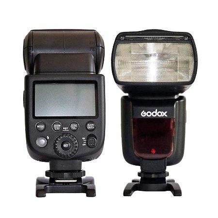 Flash Godox ETTL -II para Canon TT585C