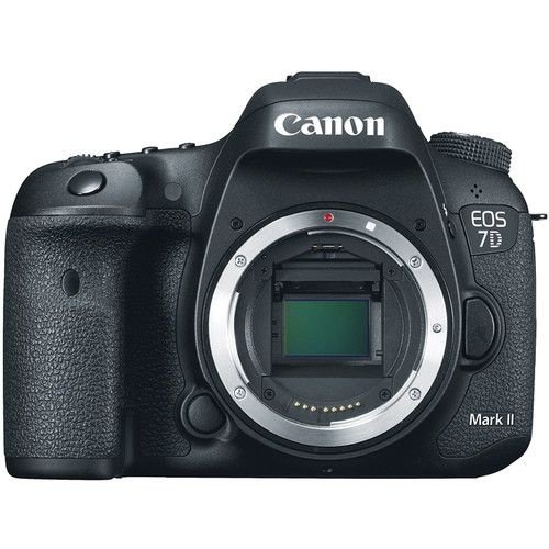 Câmera DSLR Canon EOS 7D Mark II (Corpo)