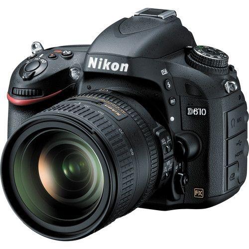 Camera Digital Nikon D610  24.3MegaPixles com Lente 24-85mm   f/3.5-4.5G ED VR