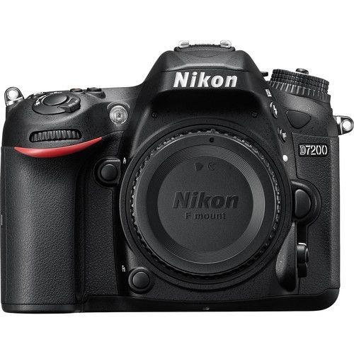 Camera  Digital Nikon  D7200 24.3MegaPixles DX Corpo