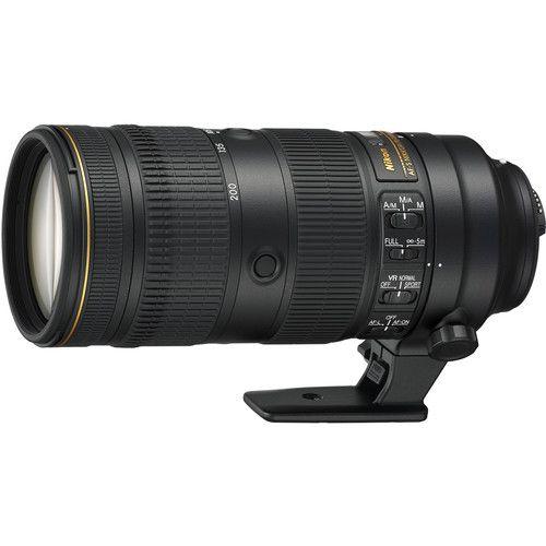 Lente Nikon AF-S NIKKOR 70-200mm f / 2.8E FL ED VR