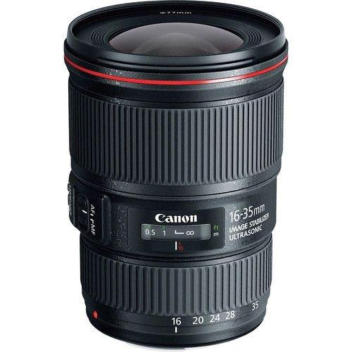 Objetiva Canon  EF 16-35mm f/4 IS USM