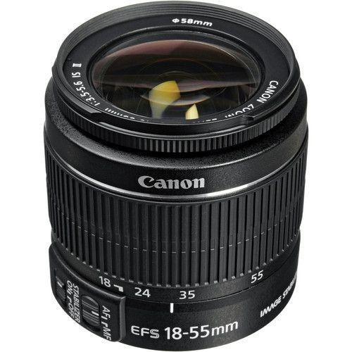 Objetiva Canon  EF-S 18-55mm f/3.5-5.6 IS STM