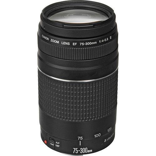 Lente Zoom  Canon  EF 75-300mm f/4-5.6 III