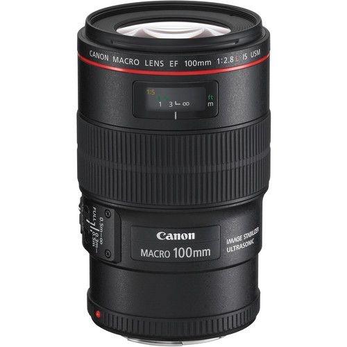 Lente Canon EF 100mm f / 2.8L Macro IS USM