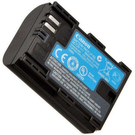 Bateria de iões de lítio Canon LP-E6N (7,2V, 1865mAh)