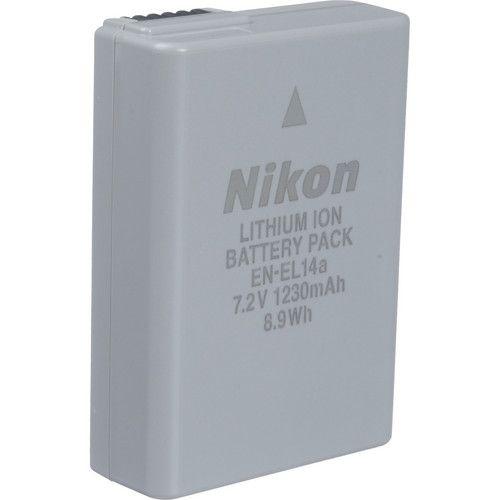 Barteria Nikon EN-EL14A  de Íons de Lítio Recarregaval