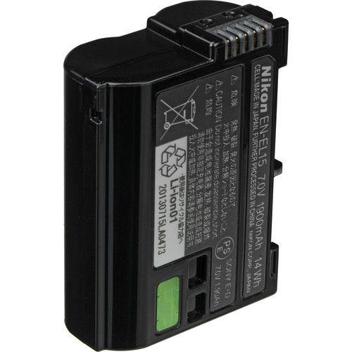 Bateria Nikon EN-EL15b de Íons de Lítio (1900mAh)