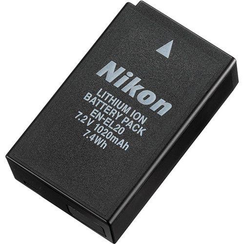 Bateria Nikon de Íons de Lítio Recarregável EN-EL20 1020mAh
