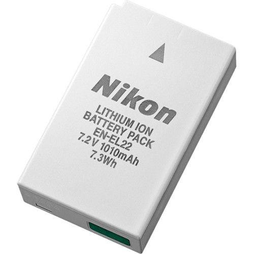 Bateria Nikon EN-EL22  de Íons de Lítio Recarregável  7,2V, 1010mAh