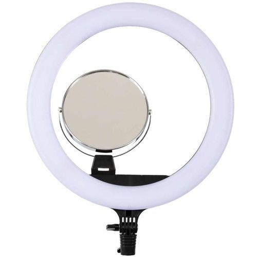 Iluminador Ring Ligh Equifoto Rl12 C/ Espelho E Suporte Celular + Tripe 2mts