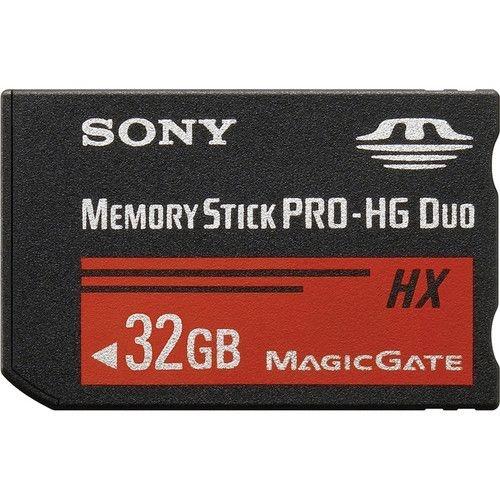 Cartao de Memoria Sony Memory Stick Pro-HG Duo HX de 32GB