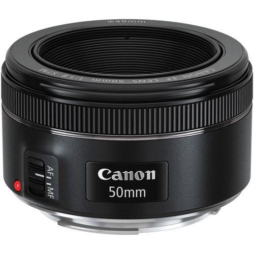 Objetiva Canon EF 50mm f/1.8 STM