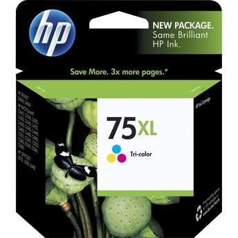 Cartucho HP color 75xl